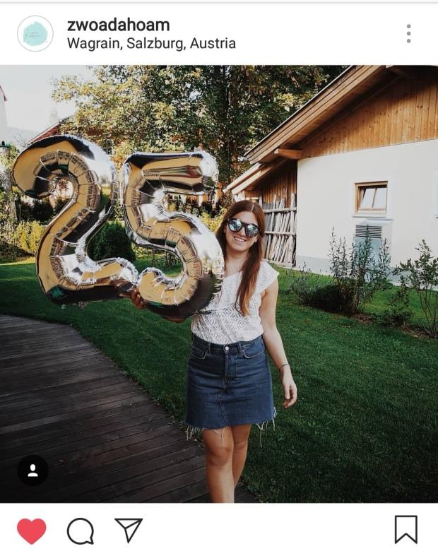 Instagram Post Zwoa Dahoam Geburtstag