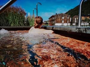 Whirlpool im Travel Charme Werfenweng