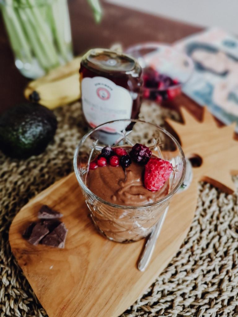 Schokoladenmousse ohne Zucker